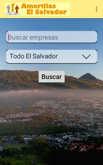 Amarillas El Salvador- screenshot