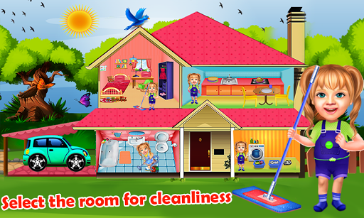 Sweet Baby Girl Cleaning Games 2018: House Cleanup 1.0.1 DreamHackers 1