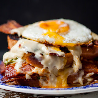 Blt Croque Madame.