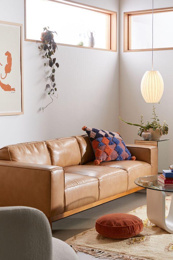 Sofa kulit sintetis - source: urbanoutfitters.com