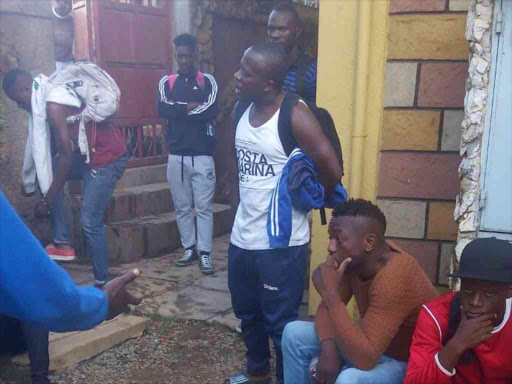 Image result for GorMahia players stranded