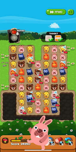 LINE PokoPoko - Play with POKOTA! Free puzzler! apkmr screenshots 6