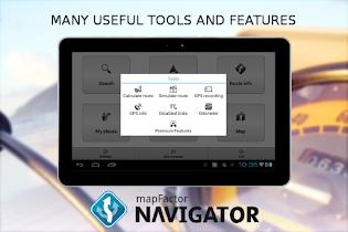MapFactor GPS Navigation Maps - screenshot thumbnail 21