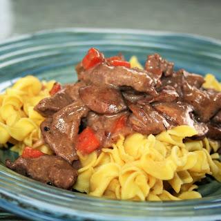 Low Sodium Beef Stroganoff Recipes