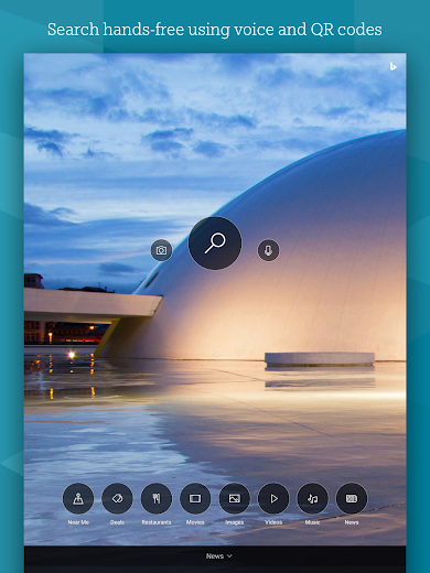 Screenshot 13 for Bing's Android app'