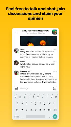 Capture u2013 chats and communities screenshots 1