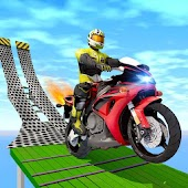 Super Bike Racing Impossible Tracks