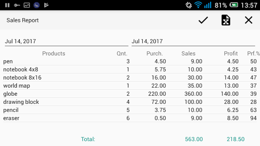 Sales System screenshot 6