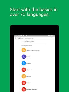 Mango Languages: Personalized Language Learning Screenshot