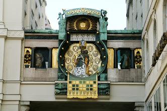 Photo: Anker Uhr, 10 Meter lang, Uhrdurchmesser 4 Meter