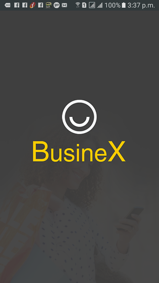 BusineX- screenshot