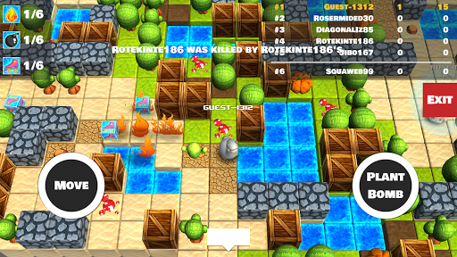 Bomber Arena: Bombing with Friends screenshot 2