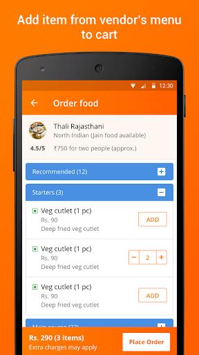 IRCTC eCatering - Food on Track screenshot 3