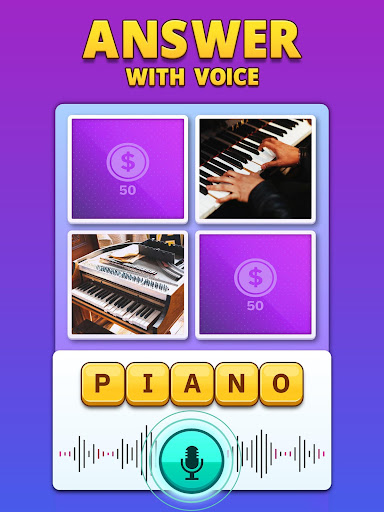 4 Pics 1 Word Pro - Pic to Word, Word Puzzle Game  screenshots 13