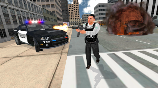 Cop Duty Police Car Simulator screenshots 21