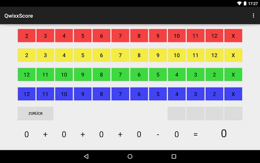 QwixxScore screenshot 3