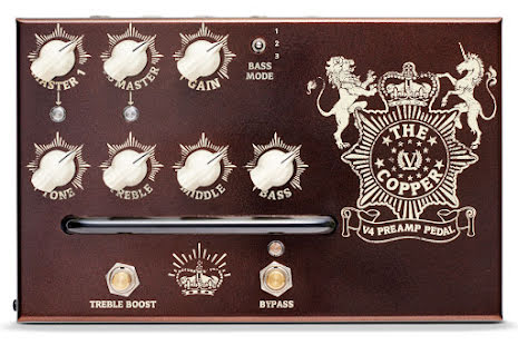 Victory V4 The Copper Preamp Pedal