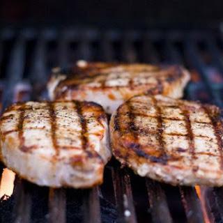 Simple Grilled Pork Chops.
