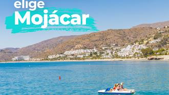 Imagen de la campaña promocional de Mojácar.