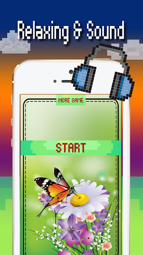 Butterfly color by number : Bugs coloring book apktram screenshots 1