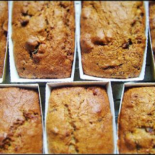 Mini Date & Walnut Loaf/Cake.