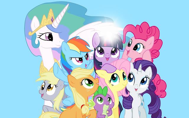 My Little Pony Friendship is Magic Tab