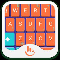 Mechanical Orange Keyboard