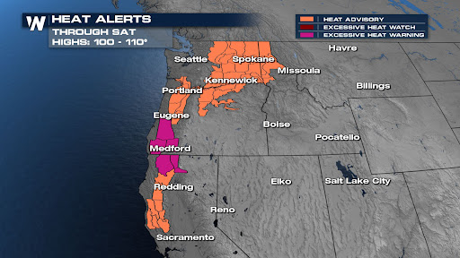 Last Day of Heat in the Northwest