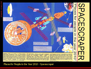Photo: Spacescraper for 2010 as envisioned in 1986