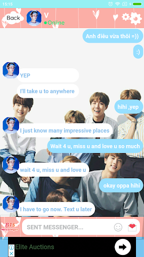 BTS Messenger - Chat with BTS 13.69 screenshots 2
