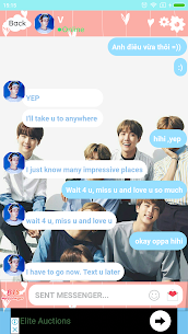 BTS Messenger – Chat with BTS 2020 24 Mod APK Download 2