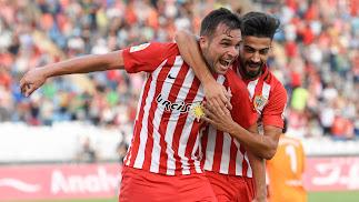 El Almería está pletórico después de dos victorias seguidas entre Copa del Rey y Liga.