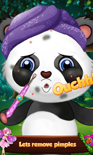 Panda Makeup Salon Games: Pet Makeover Salon Spa 1.01.0 screenshots 2