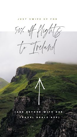 50% Off Flights to Ireland - St. Patrick's Day item