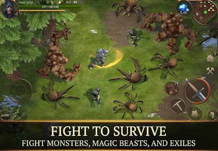 Mod Game Stormfall: Saga of Survival for Android