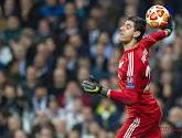 Thibaut Courtois a repris les entraînements avec le Real Madrid