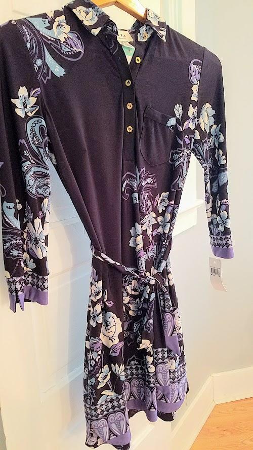 Stitch Fix Winter 2018 box review, DM Collection Marlow Jersey Shirt Dress
