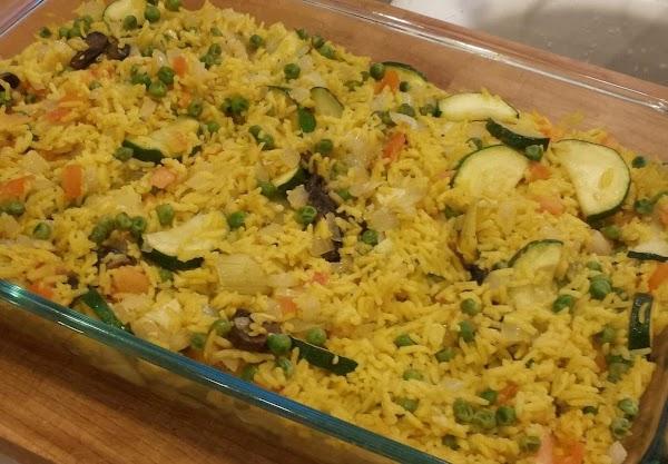 Vegetable Paella Recipe