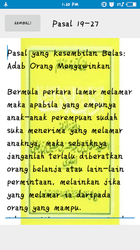Kitab Adabul Insan screenshot 4