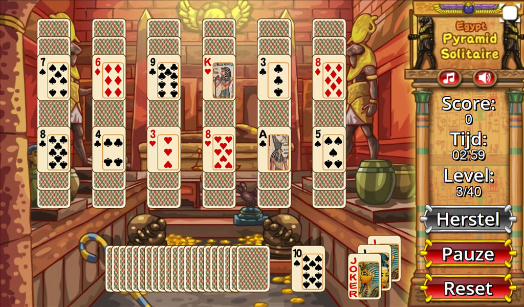 Egypt Pyramid Solitaire- screenshot