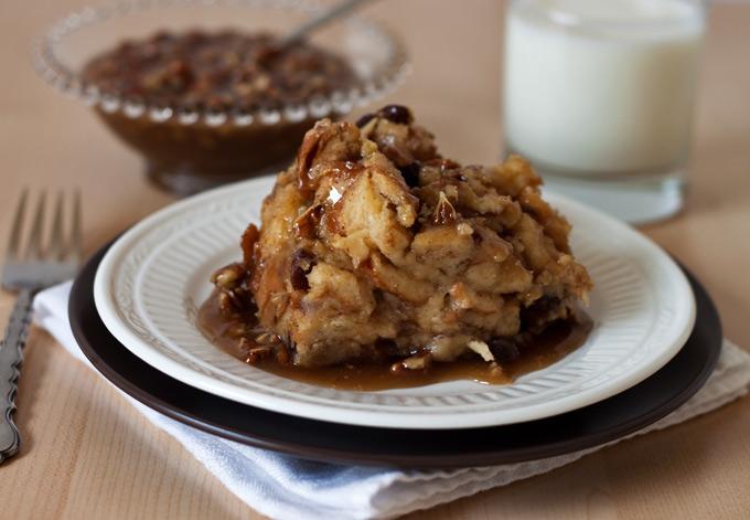 Cinnamon-Caramel Bread Puddings Recipes — Dishmaps