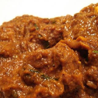 Fiery Indian Lamb Curry( Mutton Masala).