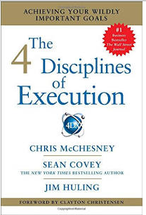 The 4 Disciplines of Execution book