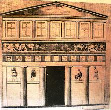 Photo: Fig. 28. Prospetto, Grande Tomba di Leukadià, Macedonia.