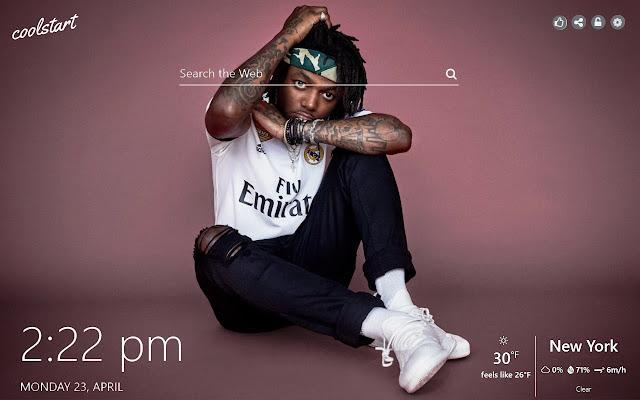JID HD Wallpapers Hip Hop Music New Tab Theme