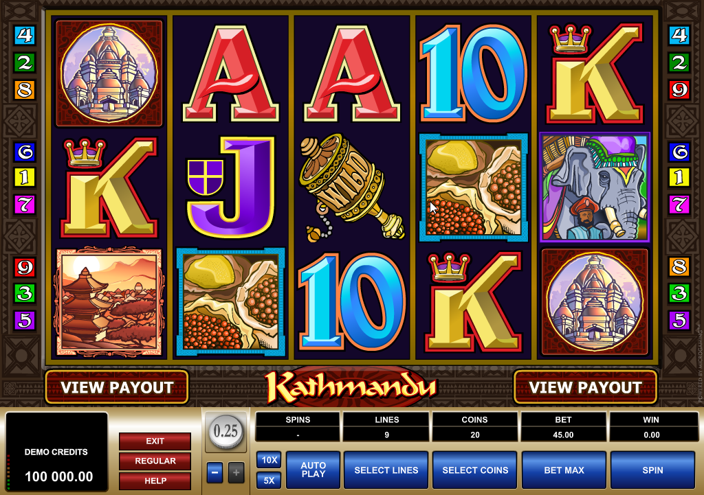 Kathmandu Slots Machine Review