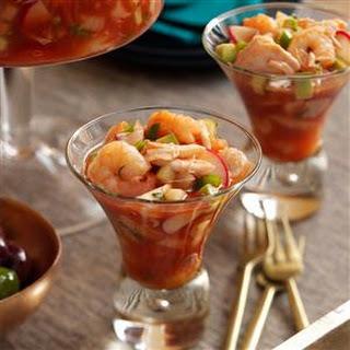 Spicy Shrimp & Crab Cocktail.