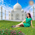 Taj Mahal Photo Frames : Photo editor & Maker icon