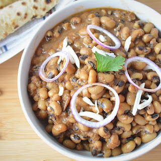 Punjabi Lobia Masala In Slow Cooker Or Crockpot