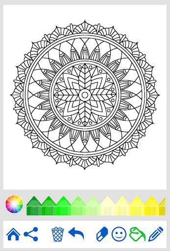 download mandala coloring for adults for pc. Black Bedroom Furniture Sets. Home Design Ideas